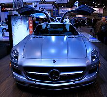 Mercedes-Benz SLS AMG by Jordan Hewlett