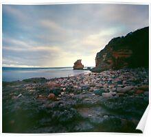 Steppie Beach - Airey's Inlet Poster