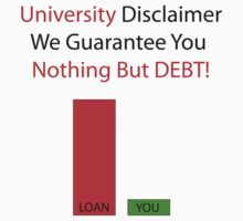 University Debt by Zac  Cheney