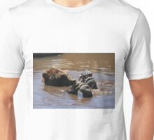 Grizzly Bear Water Play... Unisex T-Shirt