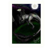 NightShine Art Print