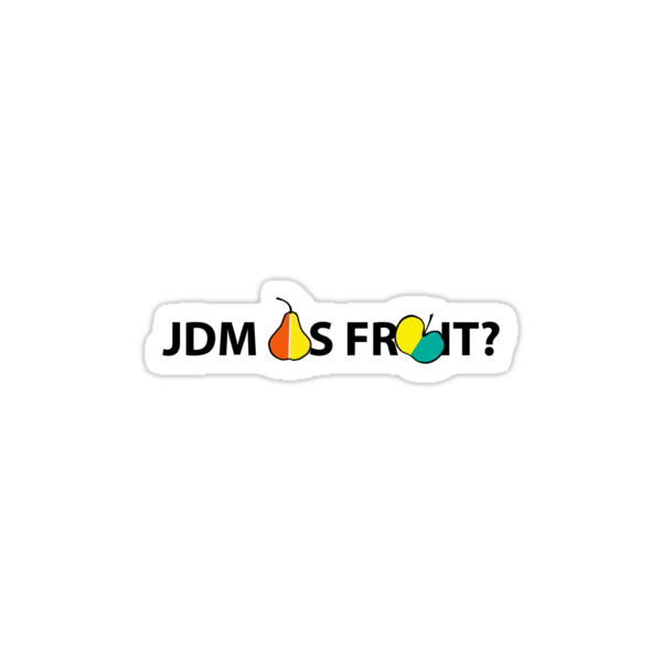 JDM AS FRUIT by Modernbliss