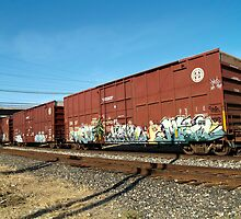 Trains in Sacramento by nexus-7