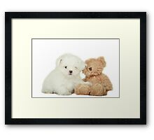 Noodles & Friend Framed Print
