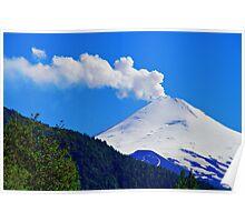 Villarrica Volcano Chile - Explore Feature 02/29/2012 Poster