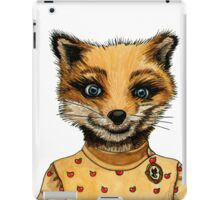 Mrs. Fox iPad Case/Skin