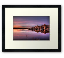 Approaching Dusk Framed Print