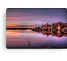 Approaching Dusk Canvas Print