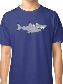 Hipster Nerd shark Classic T-Shirt