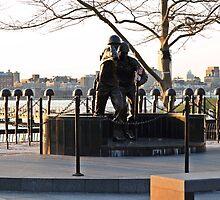 Hoboken WWII Memorial by pmarella