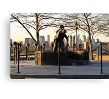 Hoboken WWII Memorial Canvas Print