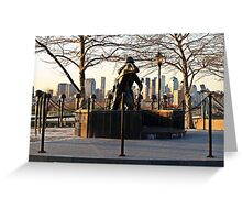 Hoboken WWII Memorial Greeting Card
