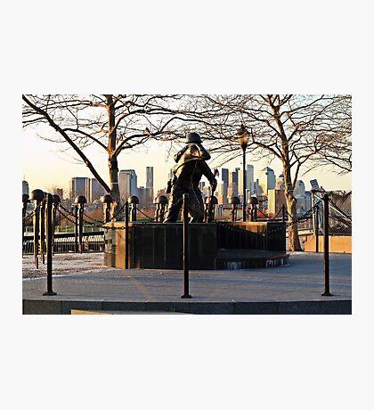 Hoboken WWII Memorial Photographic Print