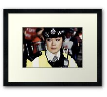 i love the police (f) Framed Print