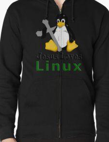 Jesus Loves Linux T-Shirt