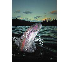 Trout Bum Paradise Photographic Print