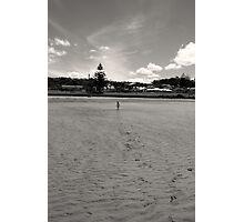Run Baby Run - Penguin Tasmania Photographic Print