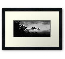 Queesntown New Zealand Framed Print