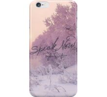 Speak Now (3) iPhone Case/Skin