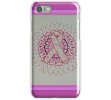 Breast Cancer Ribbon Mandala iPhone Case/Skin
