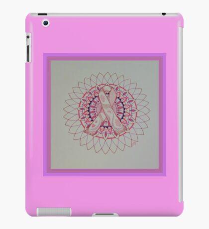 Breast Cancer Ribbon Mandala iPad Case/Skin