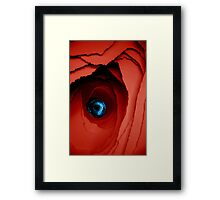 Blue miracle Framed Print