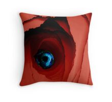 Blue miracle Throw Pillow
