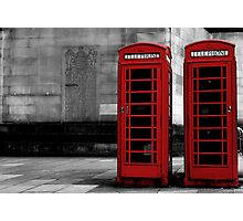 phone box colour pop Photographic Print