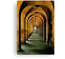 manchester arches.. Canvas Print