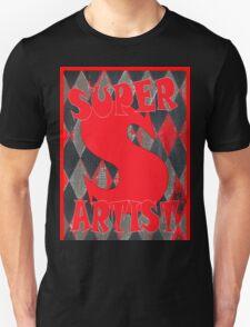 SUPER ARTIST / RED T-Shirt