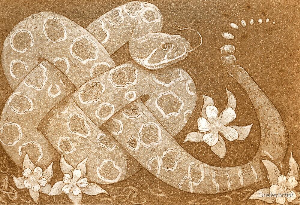 Prairie rattlesnake by SnakeArtist