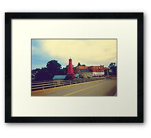 Small Town Ontario Framed Print