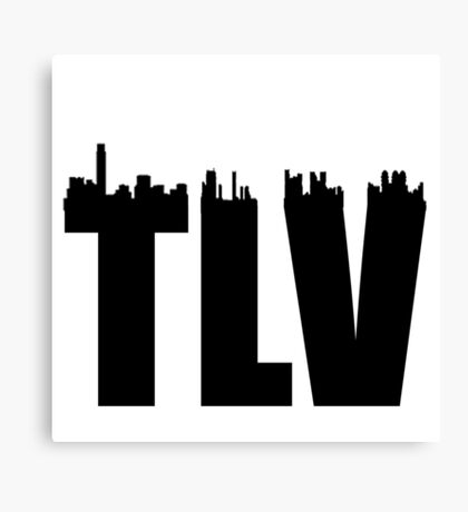 TLV-Skyline Canvas Print