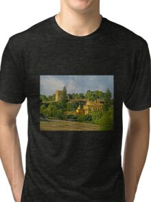 Out in the Country - On way to Seville, Spain Tri-blend T-Shirt