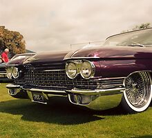 1960 Caddy at Car Show by Derwent-01