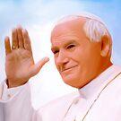 Pope John Paul II by andy551