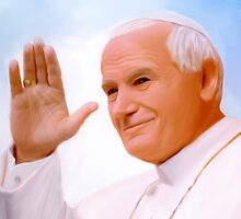 Pope John Paul II by andy551