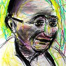Gandhi with color by Followthedon