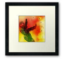 Robot Stormtrooper. Framed Print