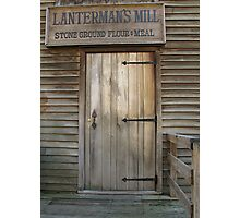 Welcome to the Mill Photographic Print