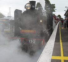Kclass Loco - coming into Berwick Station by glennmp