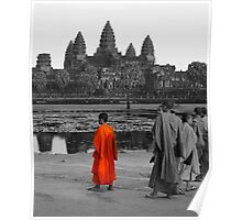 Painting Angkor Poster