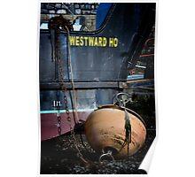 Westward Ho at Weston Super Mare Poster