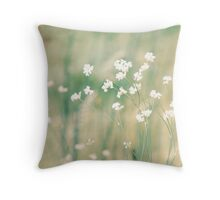 Meadow Bloom Throw Pillow