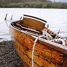 vera - rowing boat Keswick by monkeyferret