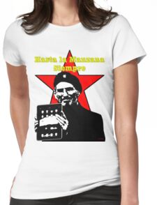 Hasta la Manzana siempre Womens Fitted T-Shirt