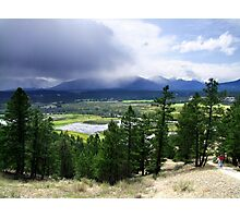 Kootenay Valley and Wetlands Photographic Print