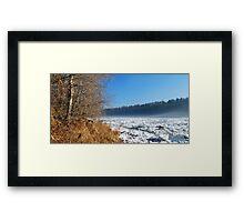 Northern River - Spring Framed Print