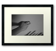 where your shadow takes you Framed Print
