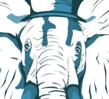 Elegant elephant Sticker